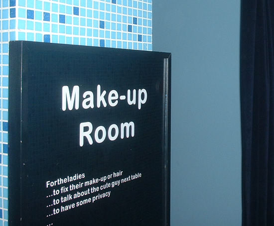 Make Up Room in Pasti