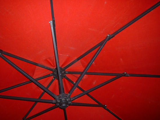 Red Terrace Umbrella