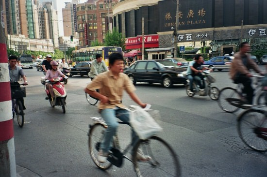 Shanghai Traffic Blur