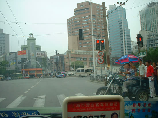 View From A Shanghai Taxi